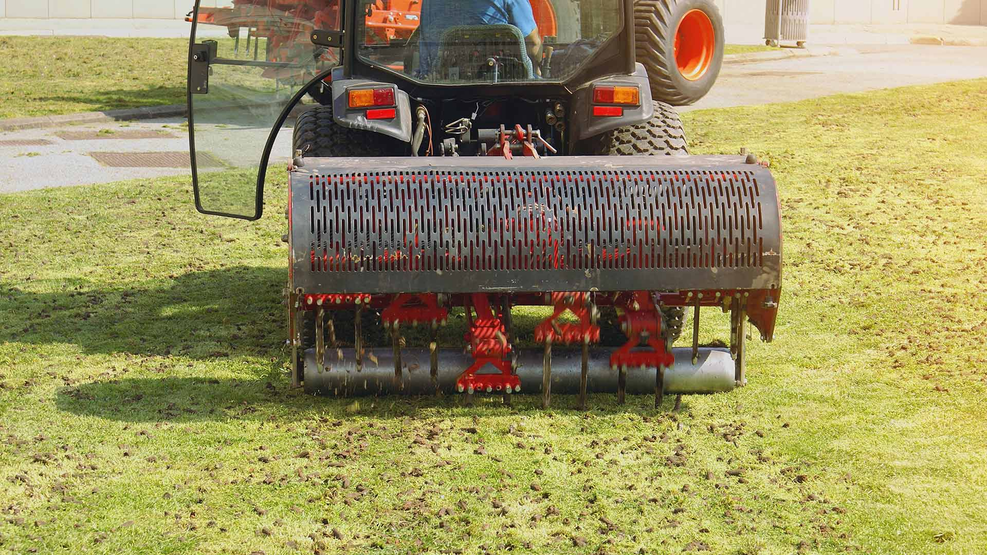 Aeration is an important service that we provide towards ensuring the revitalization of your lawn