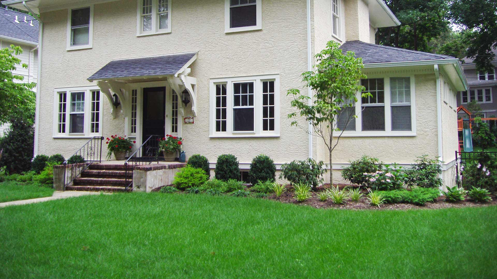 Our customers prefer our lawn services package because it handles multiple aspects of lawn maintenance.